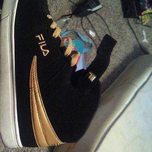 Black and Gold Fila